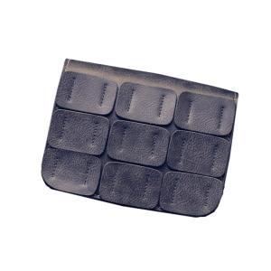 49ca0d519d8ef Mała skórzana torebka z naszywkami SZARA / WB1725