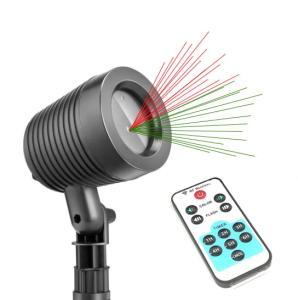 Projektor laserowy star ogrodowy świąteczny shower SF-1603