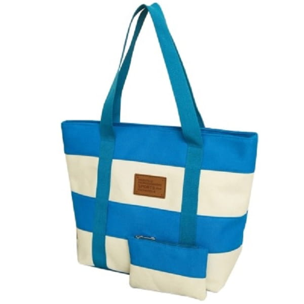 ad4805eb1ac2d Plażowa torebka w paski / marynarska NIEBIESKA. c.jpg