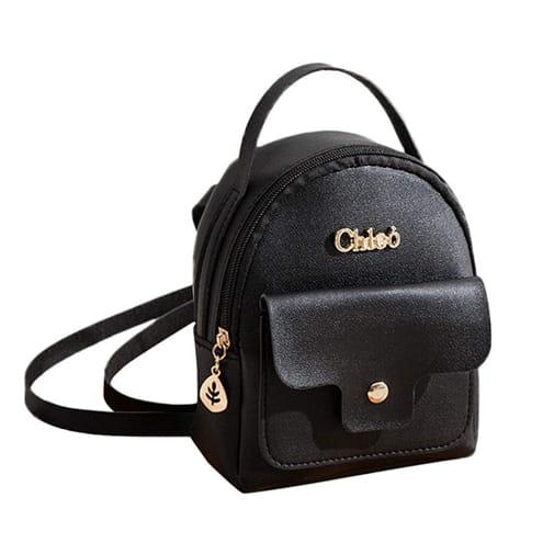 7018dd311459e mała torebka plecak mini kolory eko skóra czarny ZOLTA